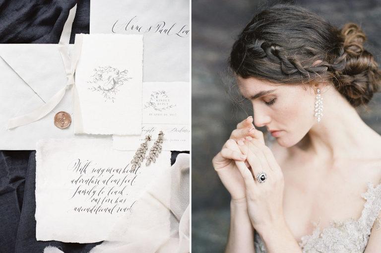 Poesie der Feder Calligraphy